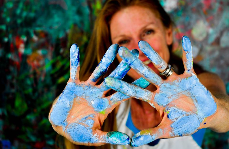 Paint Yourself Happy Workshop with Tiffiny Lilley