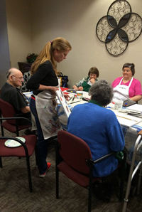 Painting Classes for Seniors