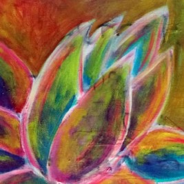 lotus flower workshop painting class