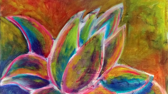 lotus flower workshop painting class