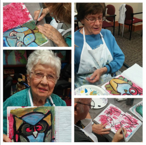 Senior Residence Art Classes